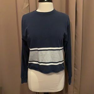 Brandy Melville navy blue top